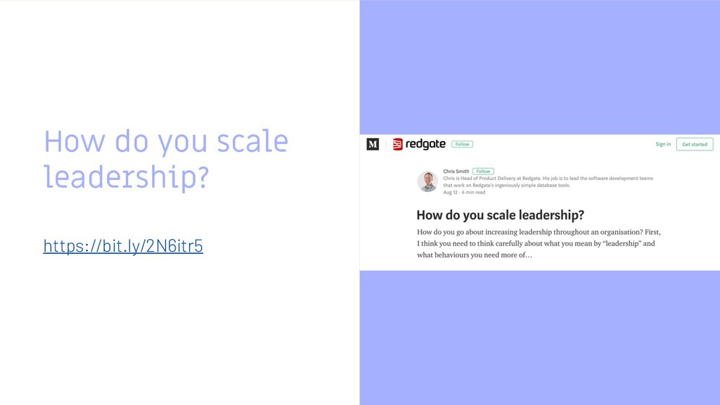 How do you scale leadership? https://bit.ly/2N6...