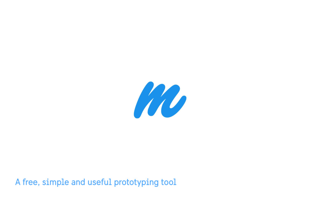 A free, simple and useful prototyping tool