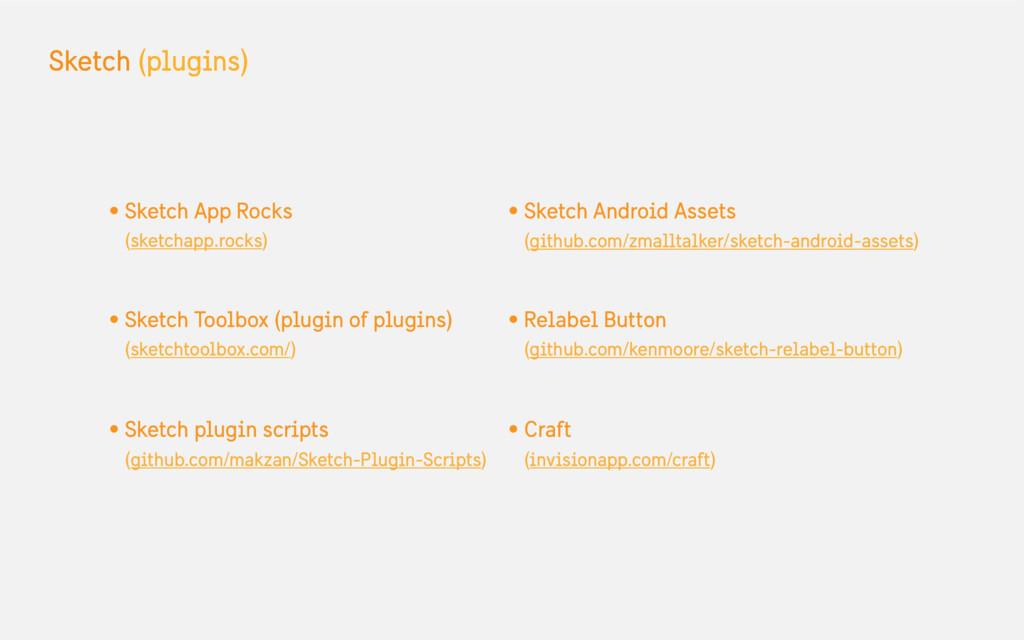 Sketch (plugins) • Sketch App Rocks (sketchapp....