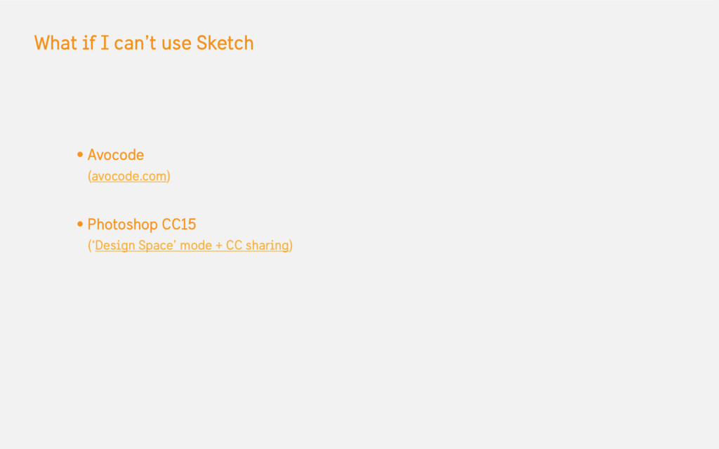 What if I can't use Sketch • Avocode (avocode.c...
