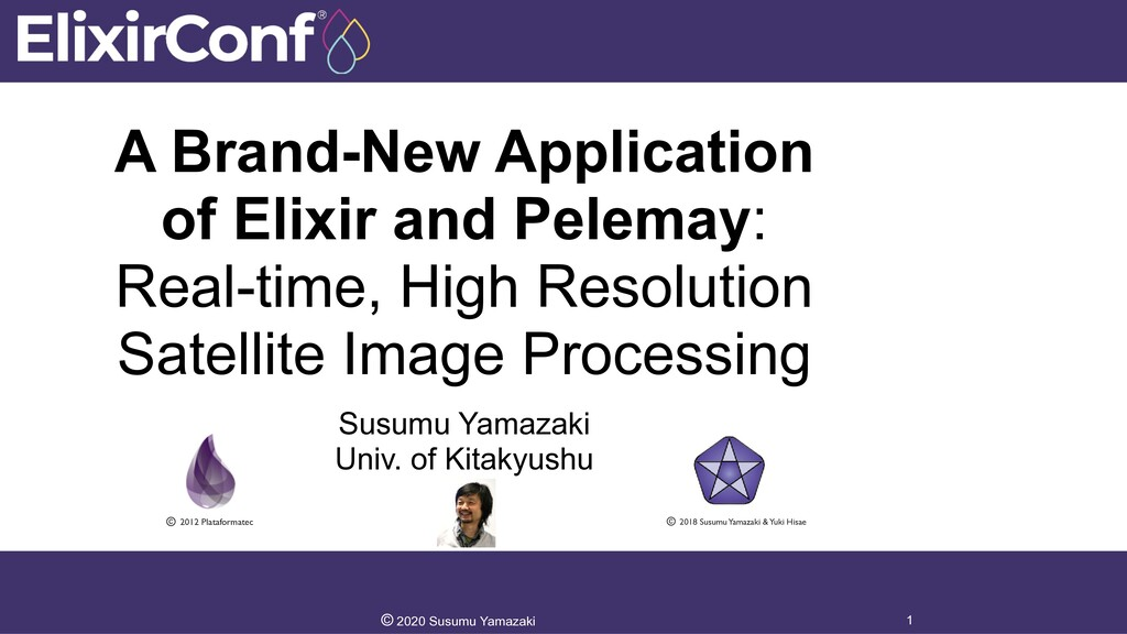 A Brand-New Application of Elixir and Pelemay: ...