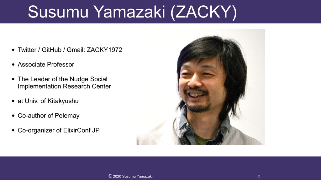Susumu Yamazaki (ZACKY) • Twitter / GitHub / Gm...