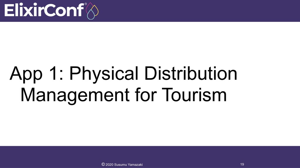 App 1: Physical Distribution Management for Tou...
