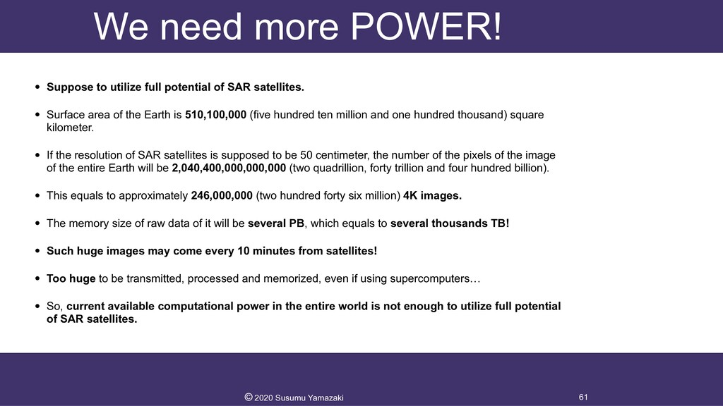We need more POWER! • Suppose to utilize full p...