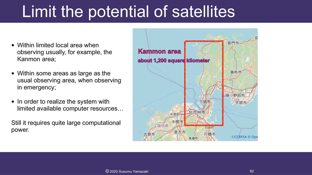 Limit the potential of satellites • Within limi...