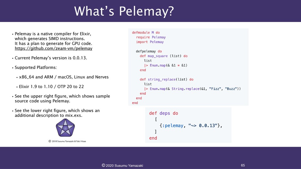 What's Pelemay? •Pelemay is a native compiler f...