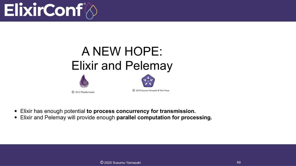A NEW HOPE: Elixir and Pelemay 69 © 2020 Susumu...
