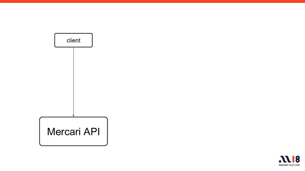 client Mercari API