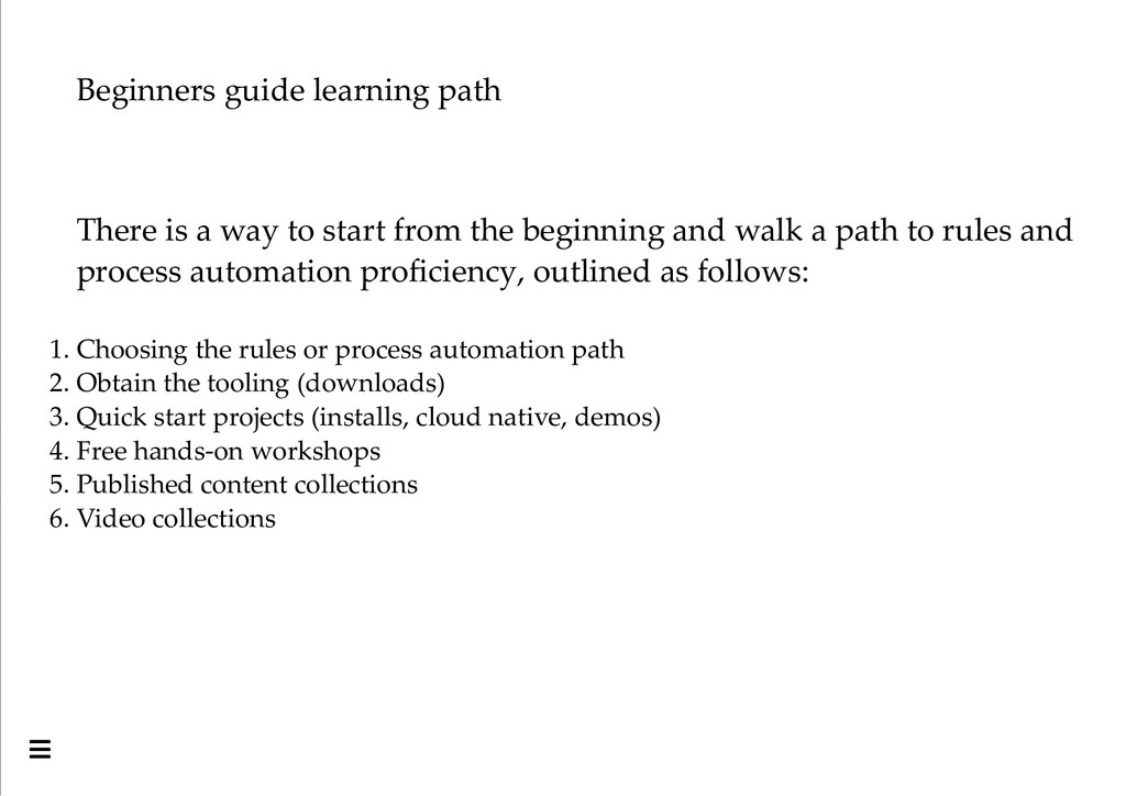 Beginners guide learning path There is a way to...