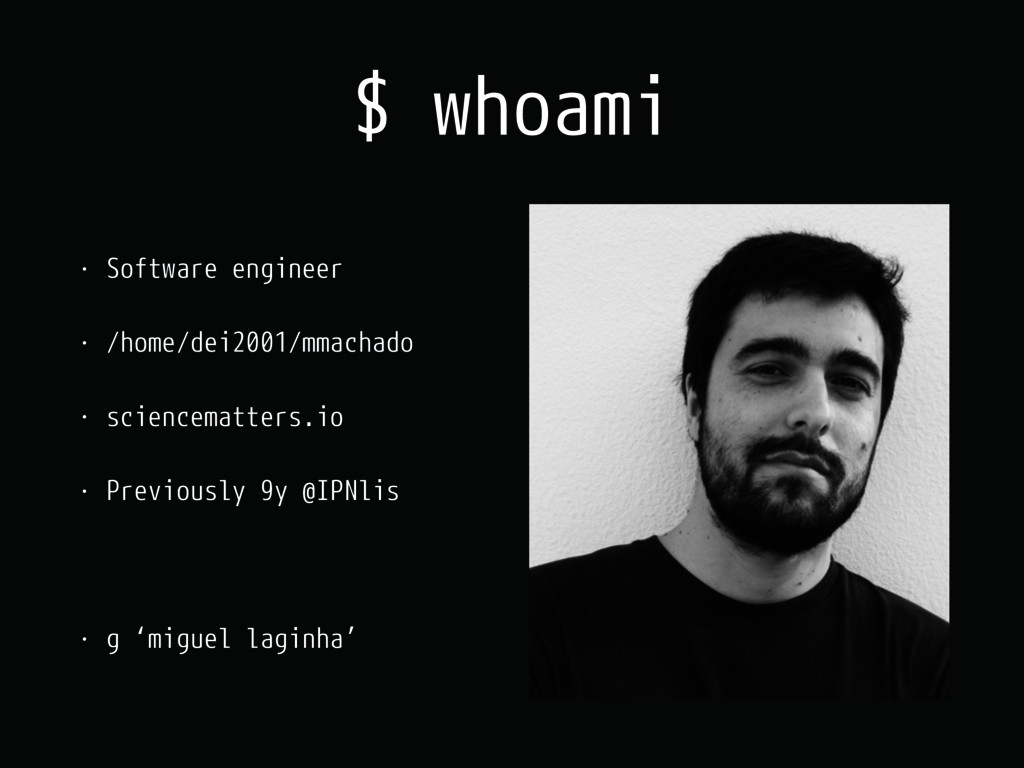 $ whoami • Software engineer • /home/dei2001/mm...