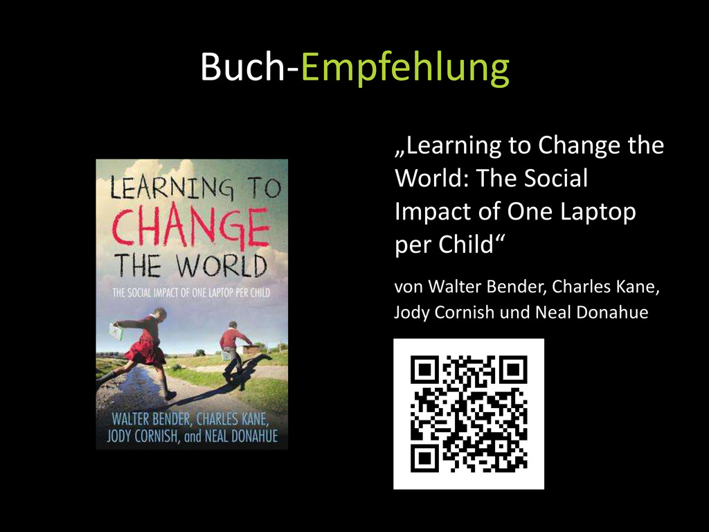 "Buch-Empfehlung ""Learning to Change the World: ..."