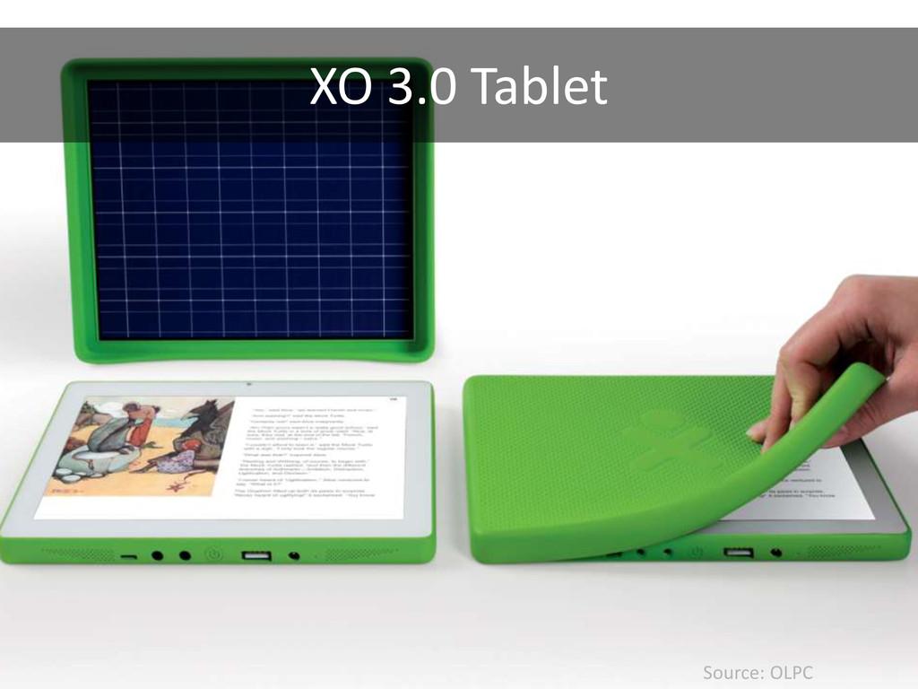Source: OLPC XO 3.0 Tablet