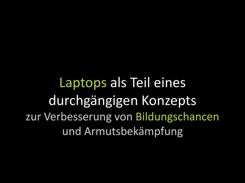 Laptops als Teil eines durchgängigen Konzepts z...