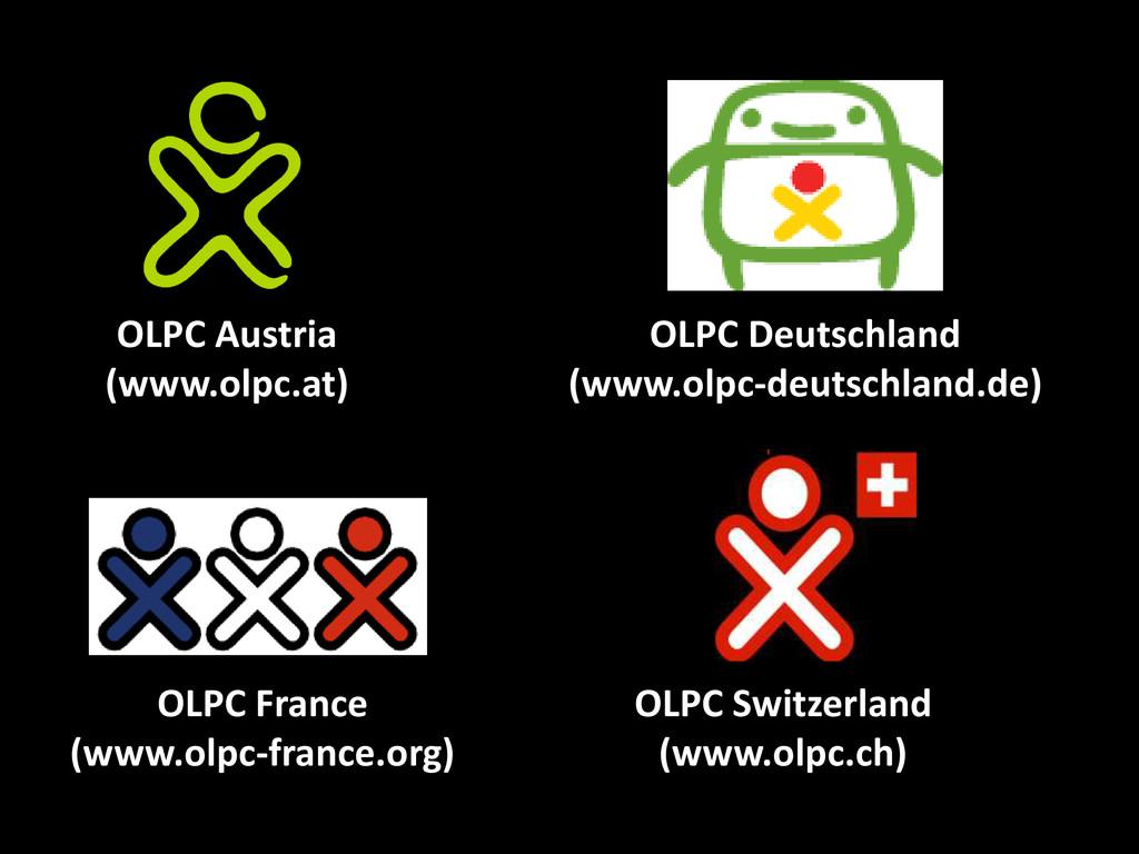 OLPC France (www.olpc-france.org) OLPC Deutschl...