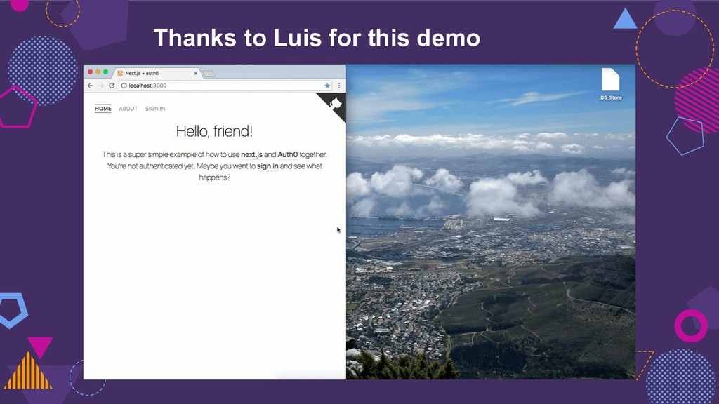 Thanks to Luis for this demo
