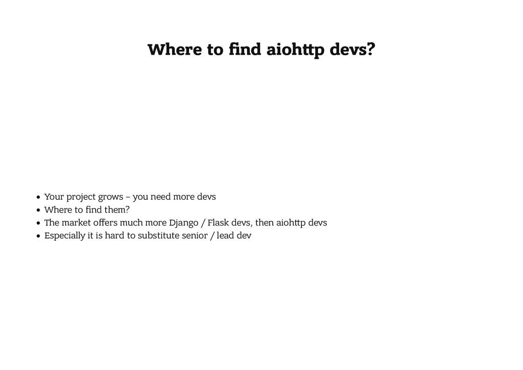 Where to find aioh p devs? Where to find aioh p d...