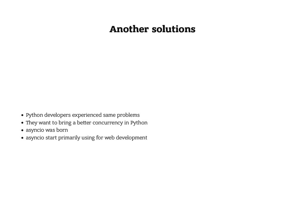 Another solutions Another solutions Python deve...