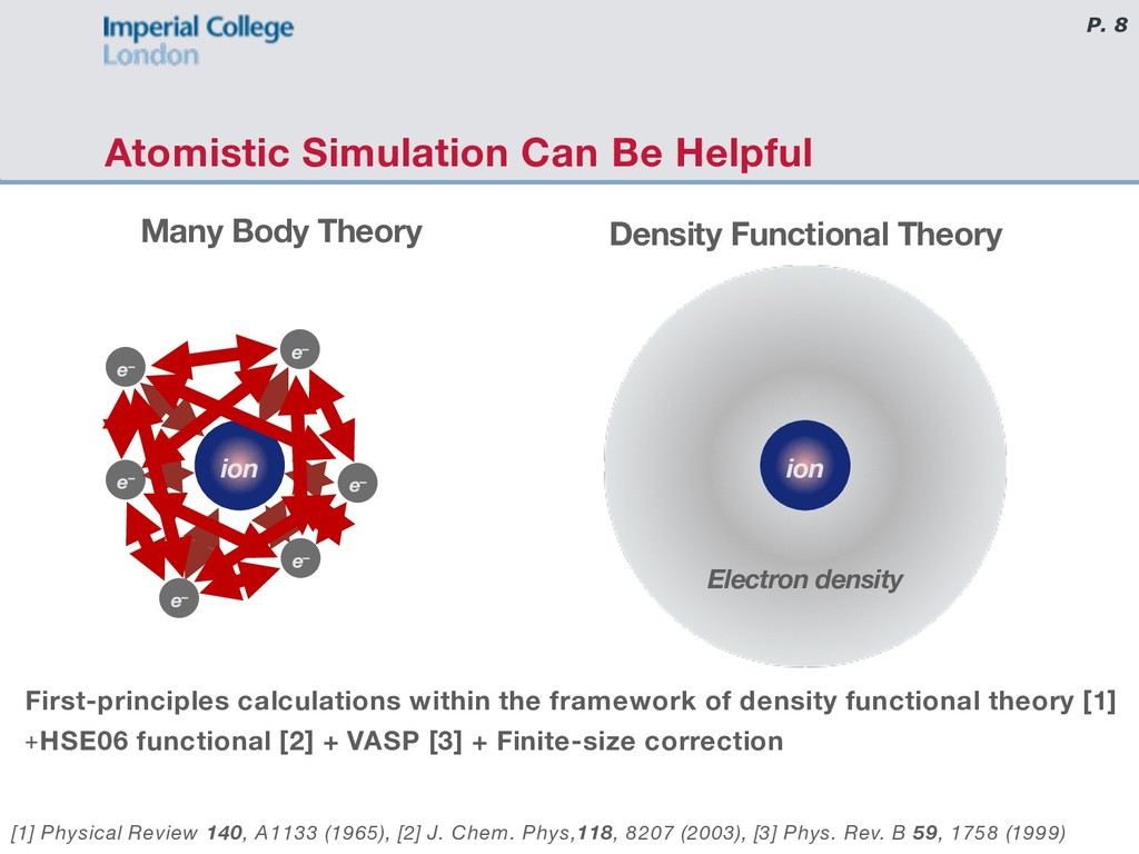 P. 8 Atomistic Simulation Can Be Helpful First-...