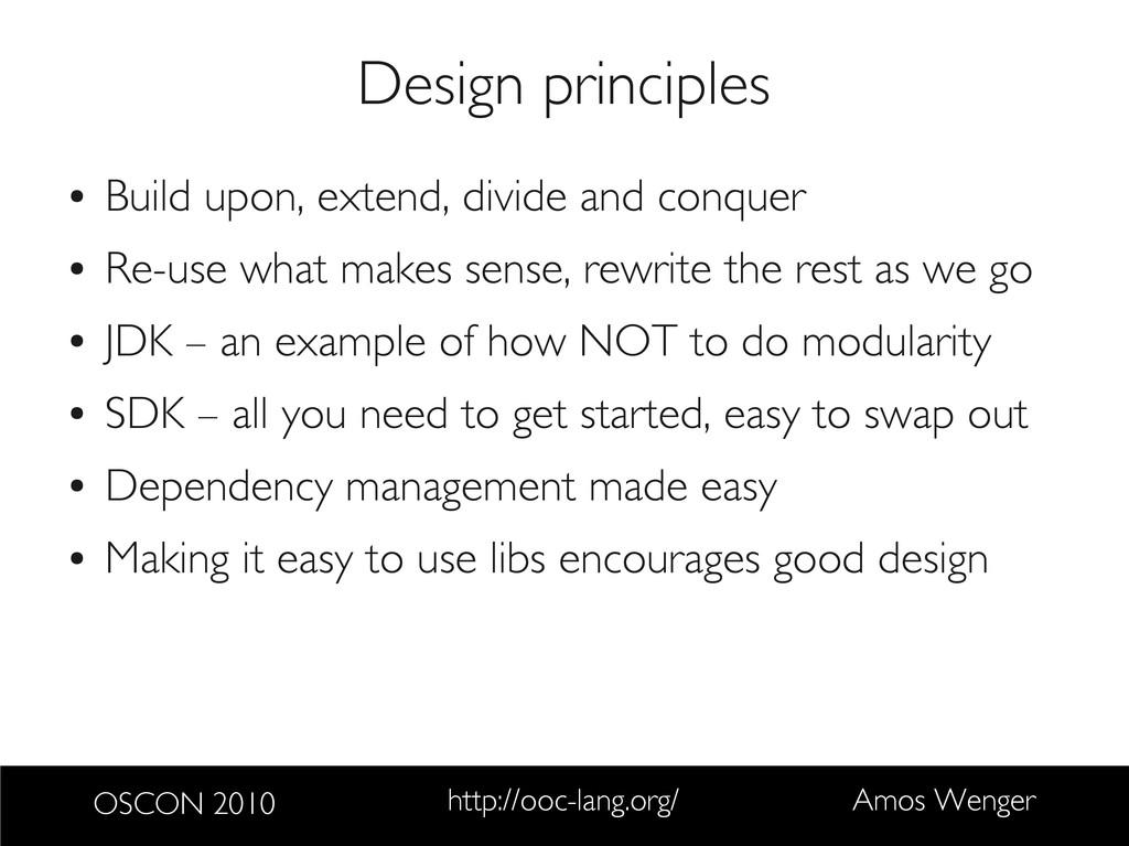OSCON 2010 http://ooc-lang.org/ Amos Wenger Des...