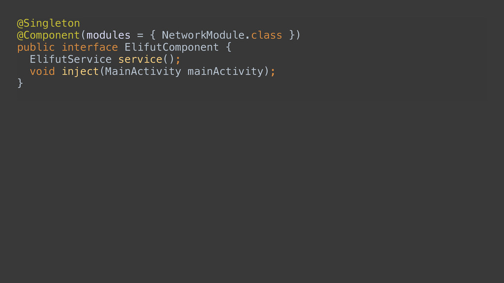 @Singleton