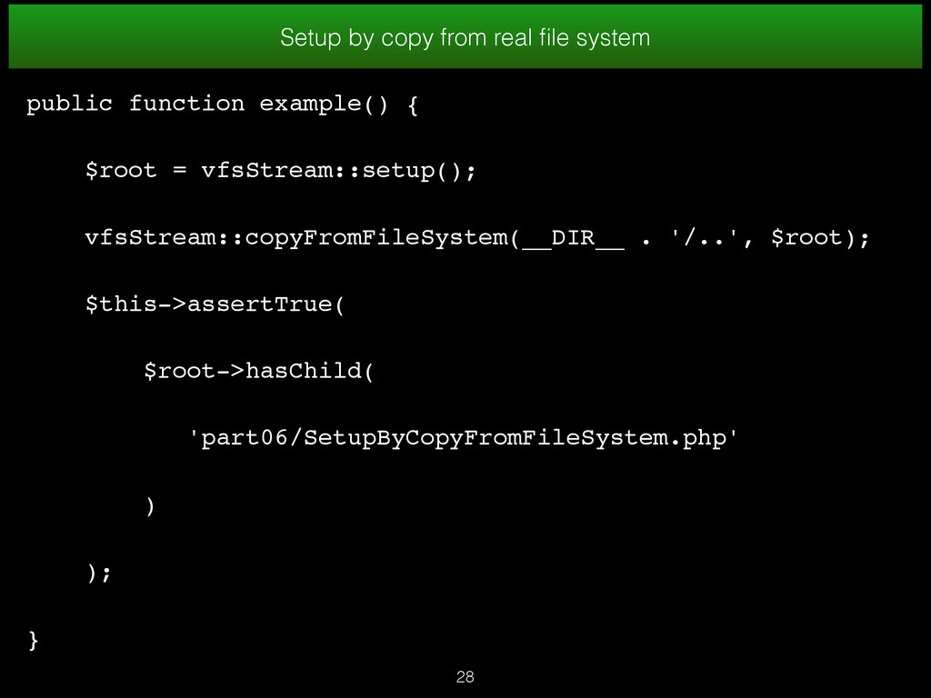 28 Setup by copy from real file system public fu...