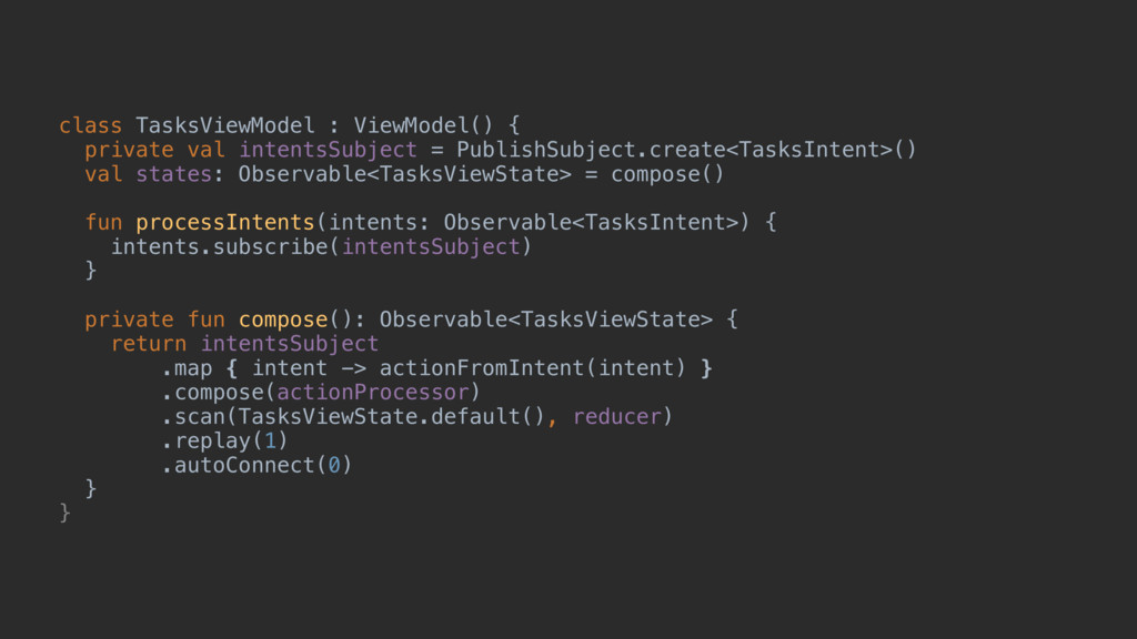 class TasksViewModel : ViewModel() { private va...