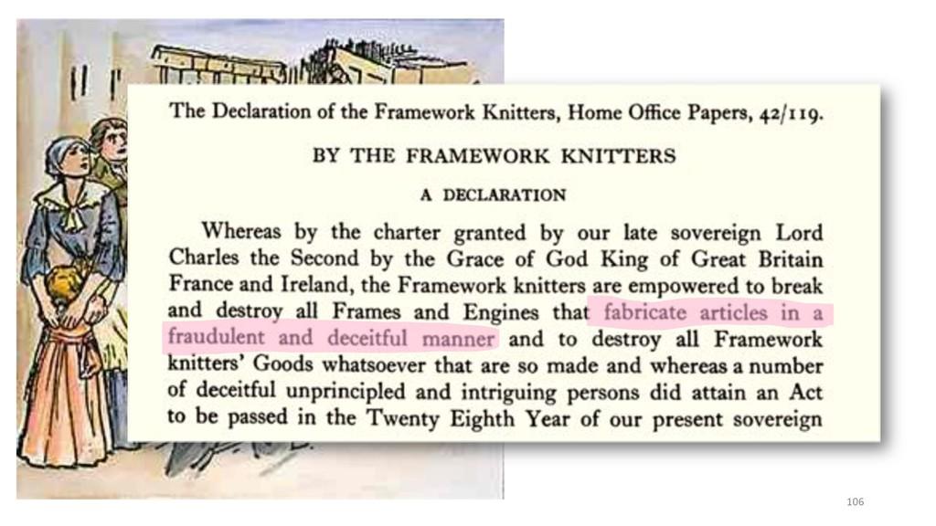 106 In defense of Luddites?