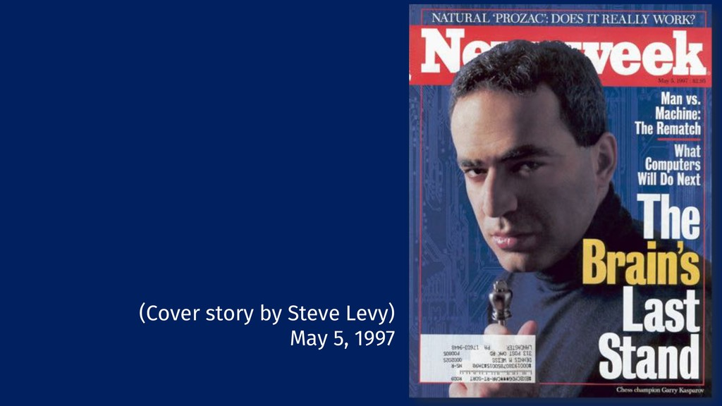 22 (Cover story by Steve Levy) May 5, 1997