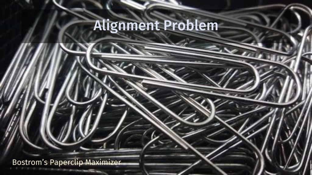 Alignment Problem 33 Bostrom's Paperclip Maximi...