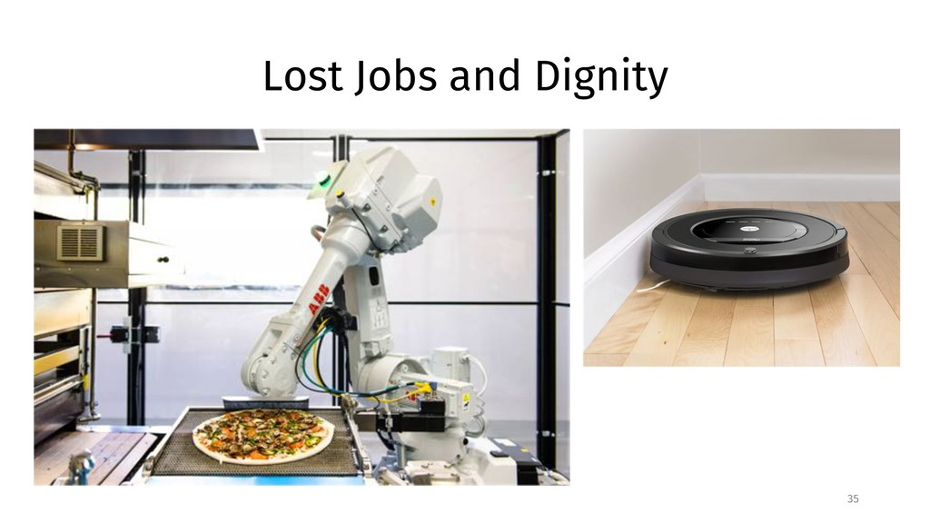 Lost Jobs and Dignity 35