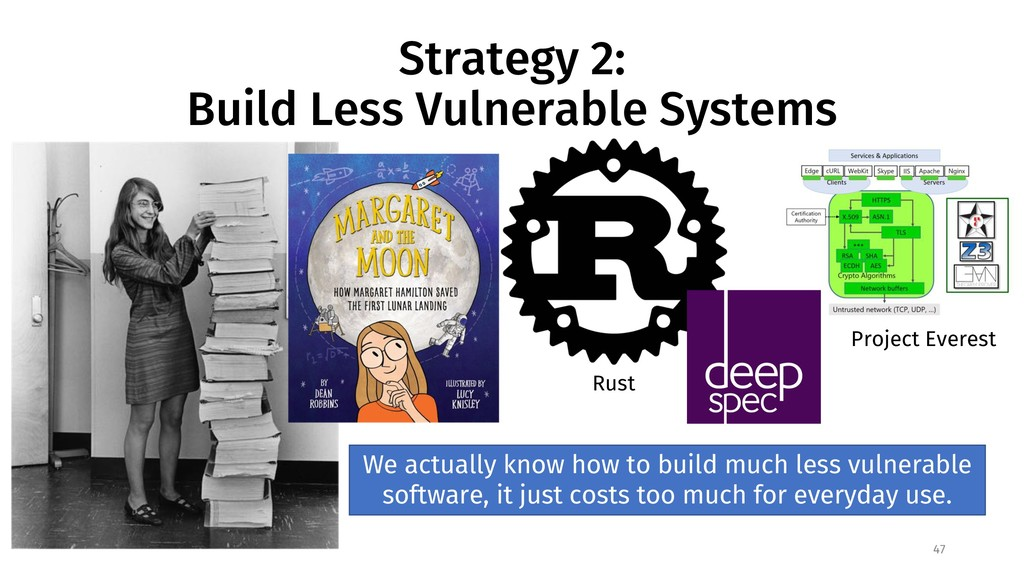 Strategy 2: Build Less Vulnerable Systems 47 Ru...