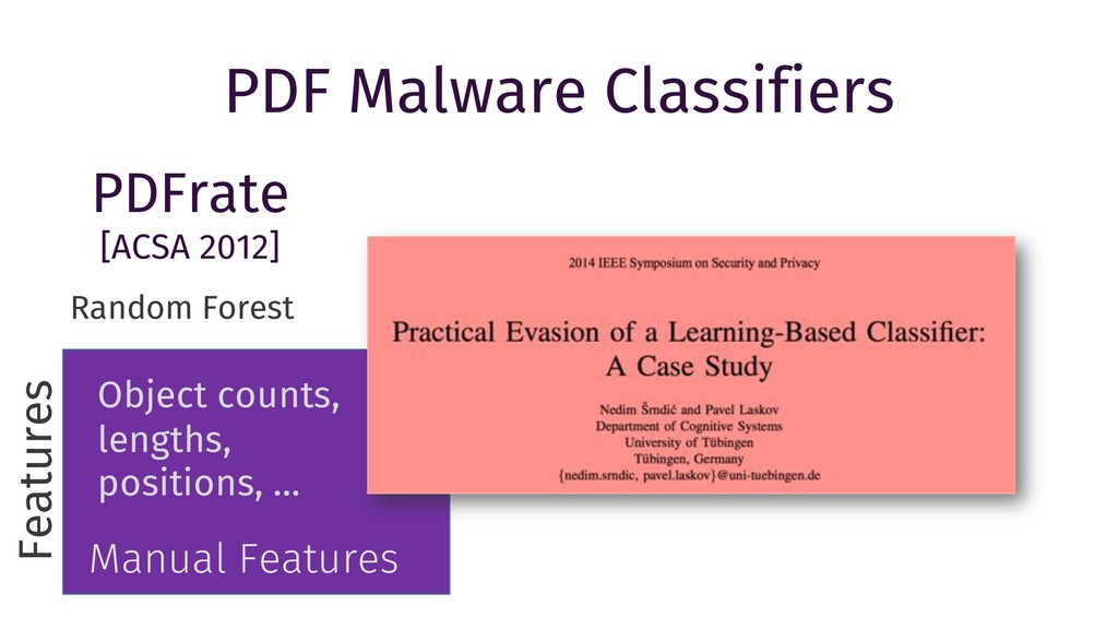 PDF Malware Classifiers Random Forest Features ...