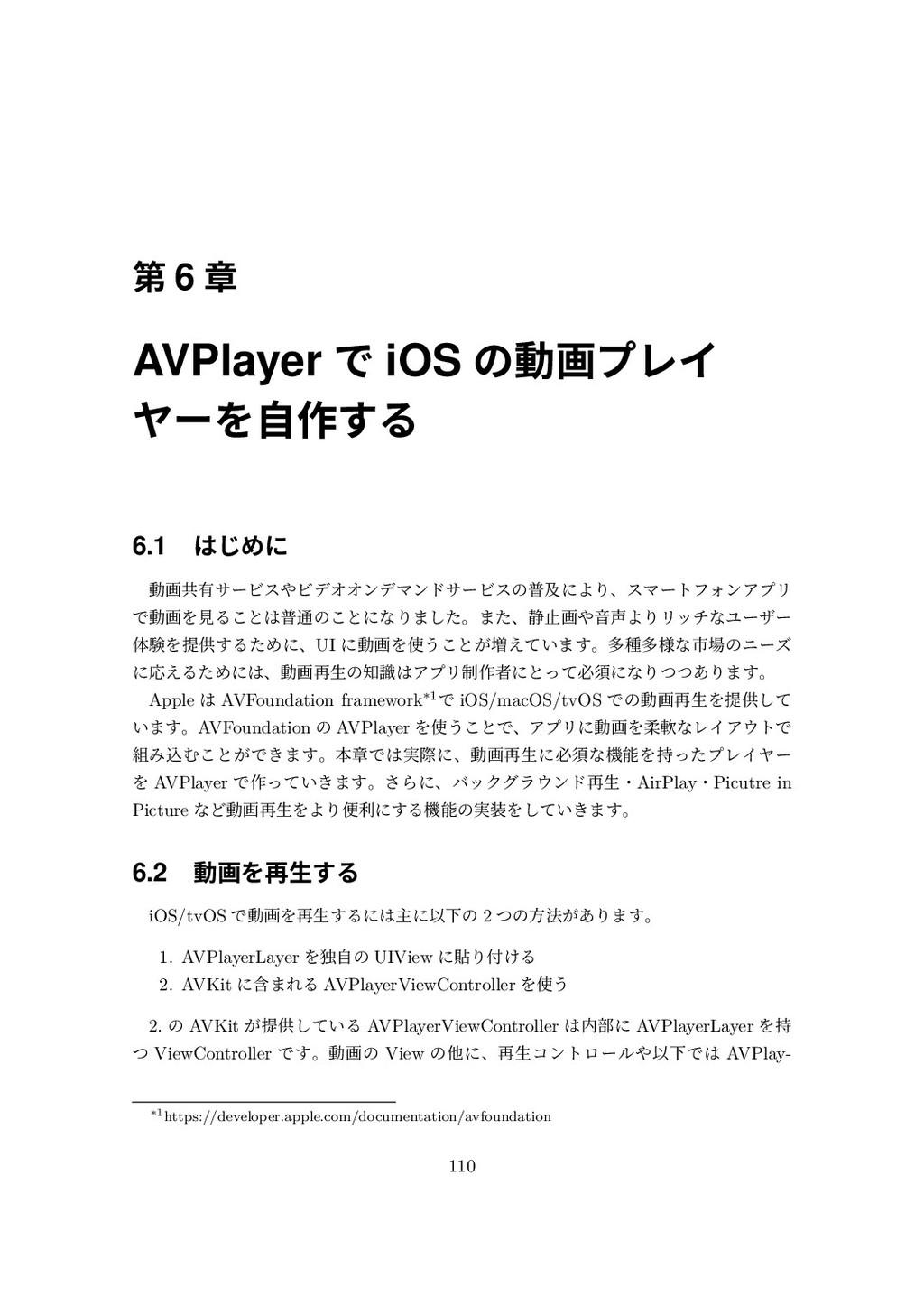 瑬 6 珕 AVPlayer ך iOS סⳂ槆وٝؕ ٕ٭舅⛼ 6.1 ע״מ ⳛ氺...
