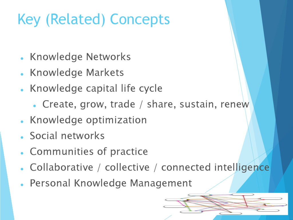 Key (Related) Concepts  Knowledge Networks  K...