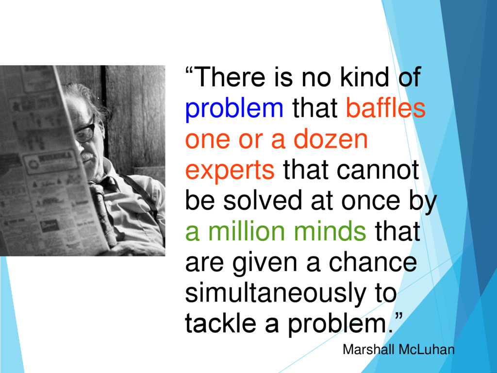 """There is no kind of problem that baffles one o..."