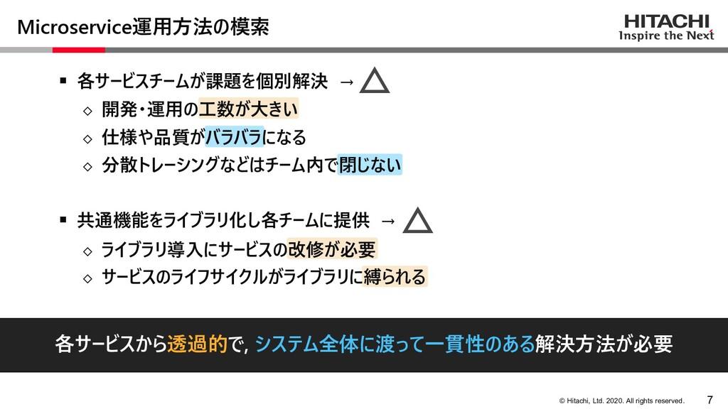 © Hitachi, Ltd. 2020. All rights reserved. Micr...
