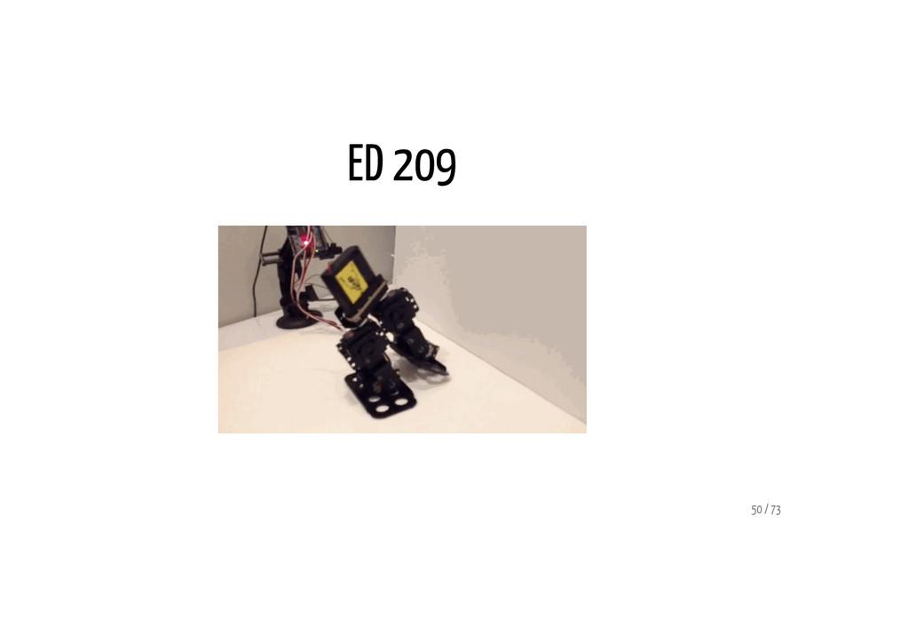 ED 209 50 / 73