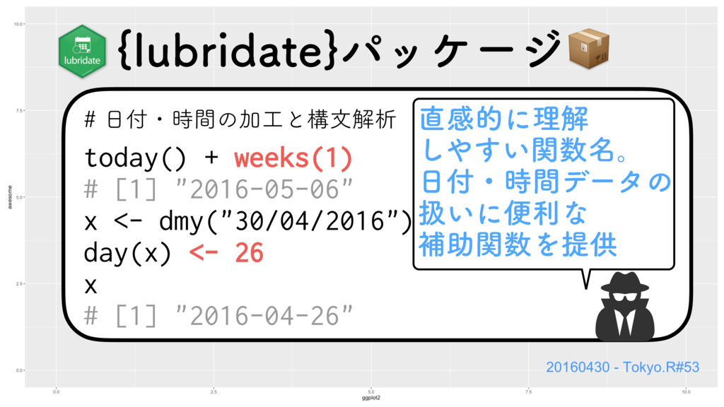"ɾؒͷՃͱߏจղੳ today() + weeks(1) # [1] ""2016..."