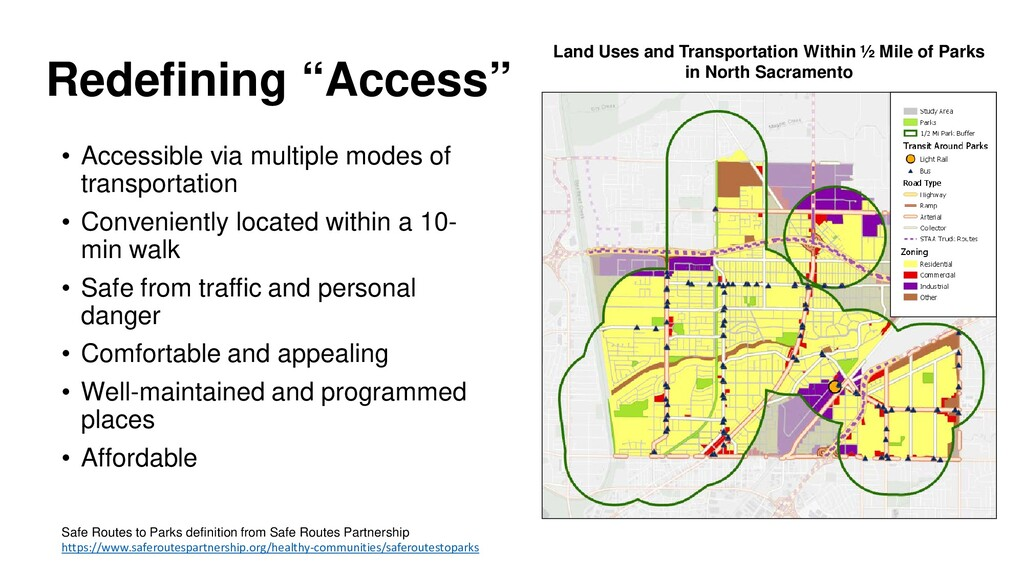 """Redefining """"Access"""" • Accessible via multiple m..."""