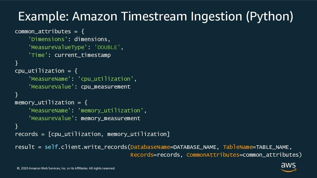 ©, 2020 Amazon Web Services, Inc. or its Affili...