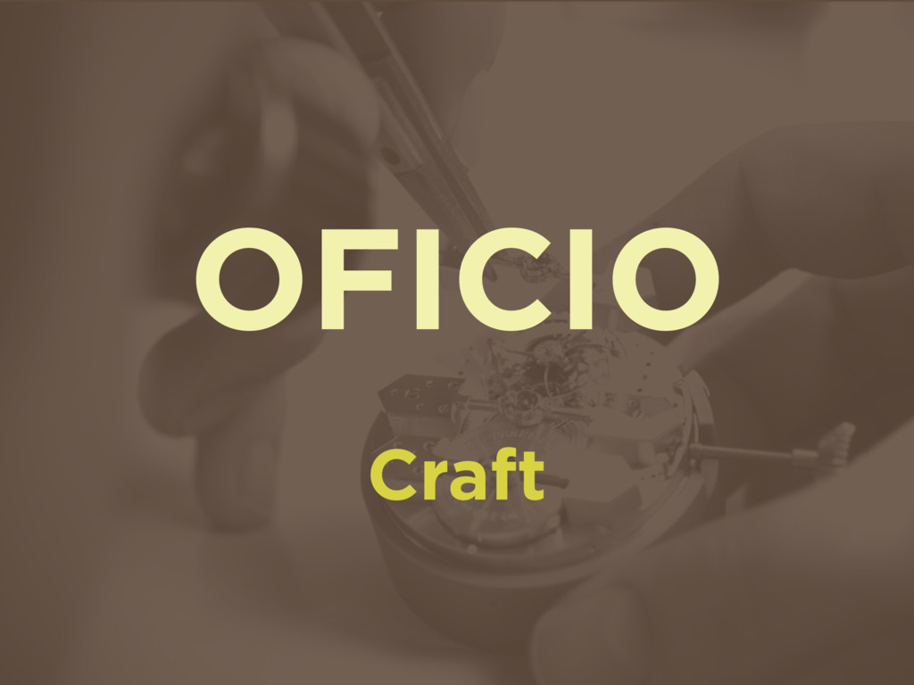 OFICIO Craft