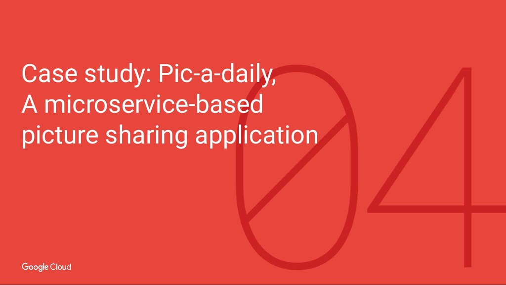 Case study: Pic-a-daily, A microservice-based p...