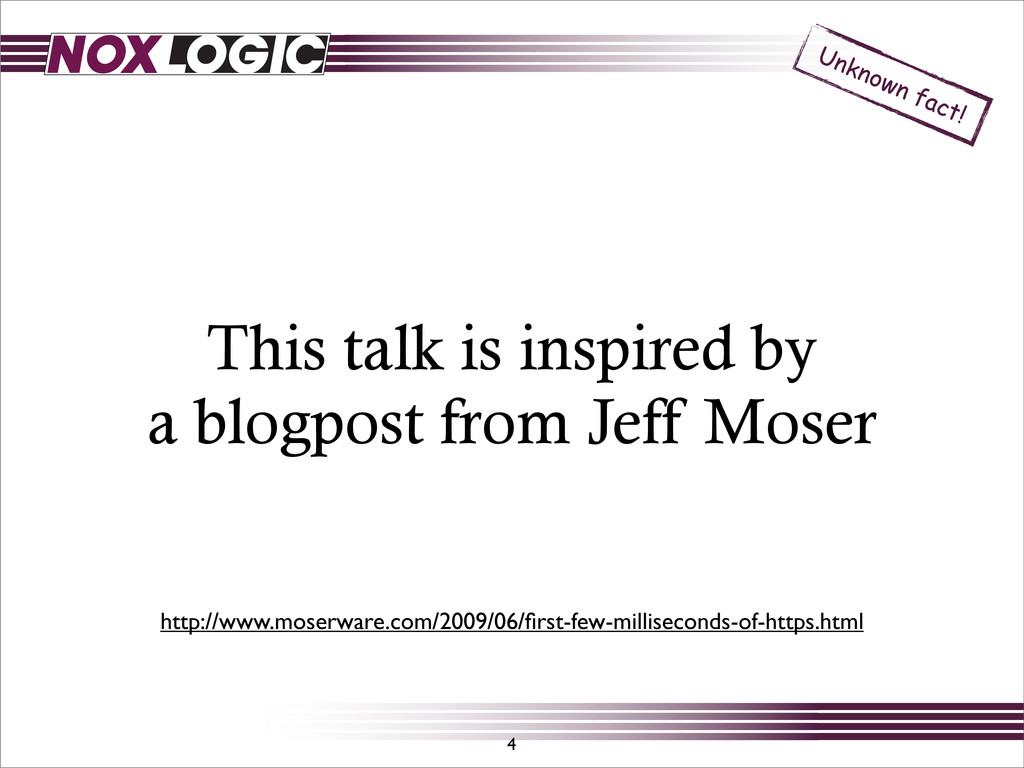 This talk is inspired by a blogpost from Jeff M...