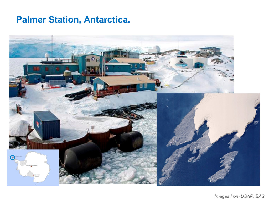Palmer Station, Antarctica. Images from USAP, B...