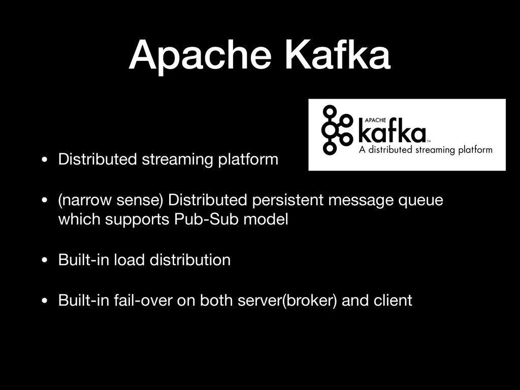 Apache Kafka • Distributed streaming platform  ...