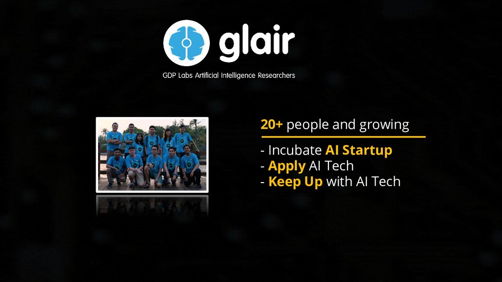 20+ people and growing - Incubate AI Startup - ...