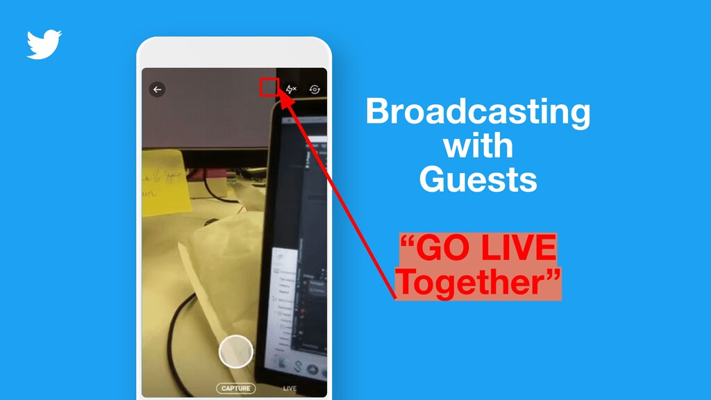 """Broadcasting with Guests """"GO LIVE Together"""""""