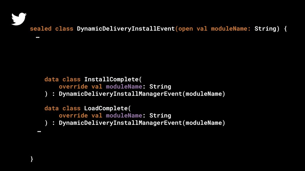 sealed class DynamicDeliveryInstallEvent(open v...