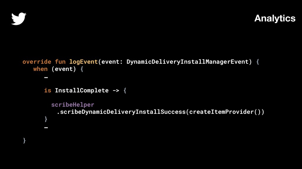 override fun logEvent(event: DynamicDeliveryIns...