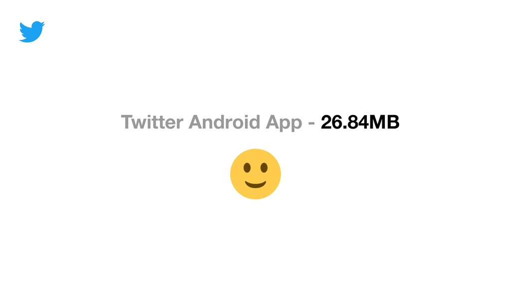 Twitter Android App - 26.84MB